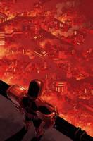 Judge Dredd cover #8 by nelsondaniel