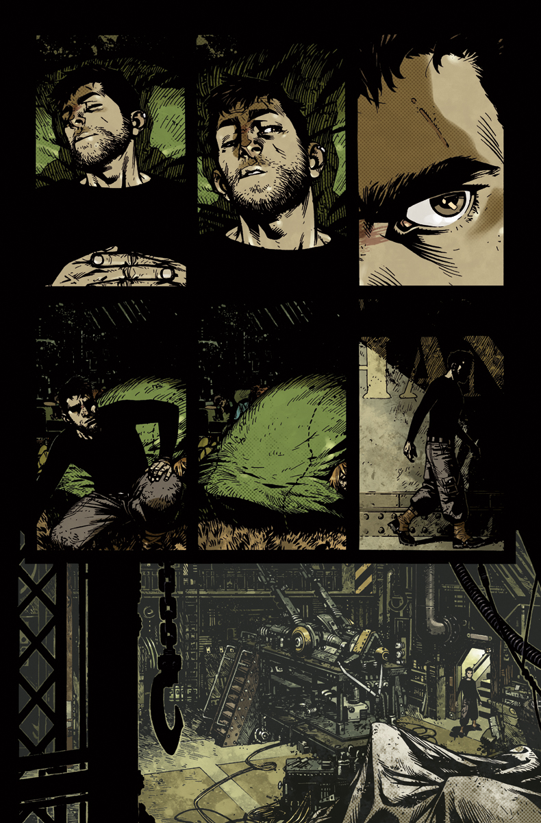 Wild Blue Yonder issue 2 page 22 Color by nelsondaniel