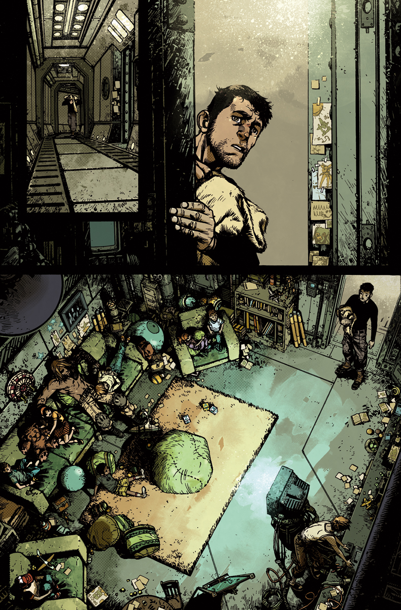 WIld Blue Yonder issue 2 page 17 Color by nelsondaniel