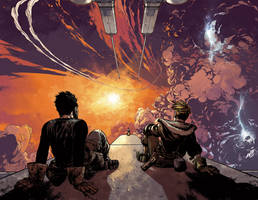 WIld Blue Yonder issue 3 pages 14 and 15 Color