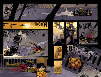 Judge Dredd #14 page 2-3 by nelsondaniel