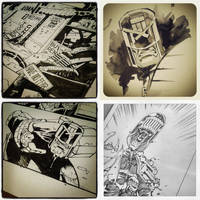 Dredd Instagramies by nelsondaniel