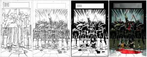 Judge Dredd #16 page 1 process