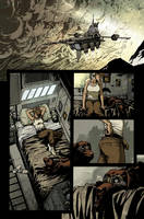 Wild Blue Yonder issue 4 page 4 Color by nelsondaniel