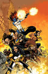 Wolverines #1 Cover Variant color