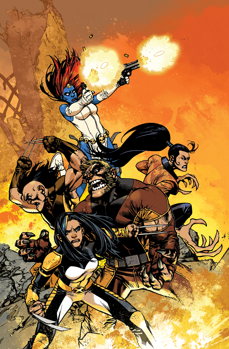Wolverines #1 Cover Variant color by nelsondaniel