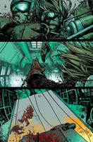 Wild Blue Yonder issue 6 page 16 Color by nelsondaniel