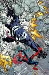 Venom the Spaceknight cover 11 Color