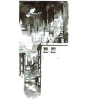 Inktober. Batman Year One by nelsondaniel