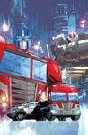 Optimus Prime #4 Cover