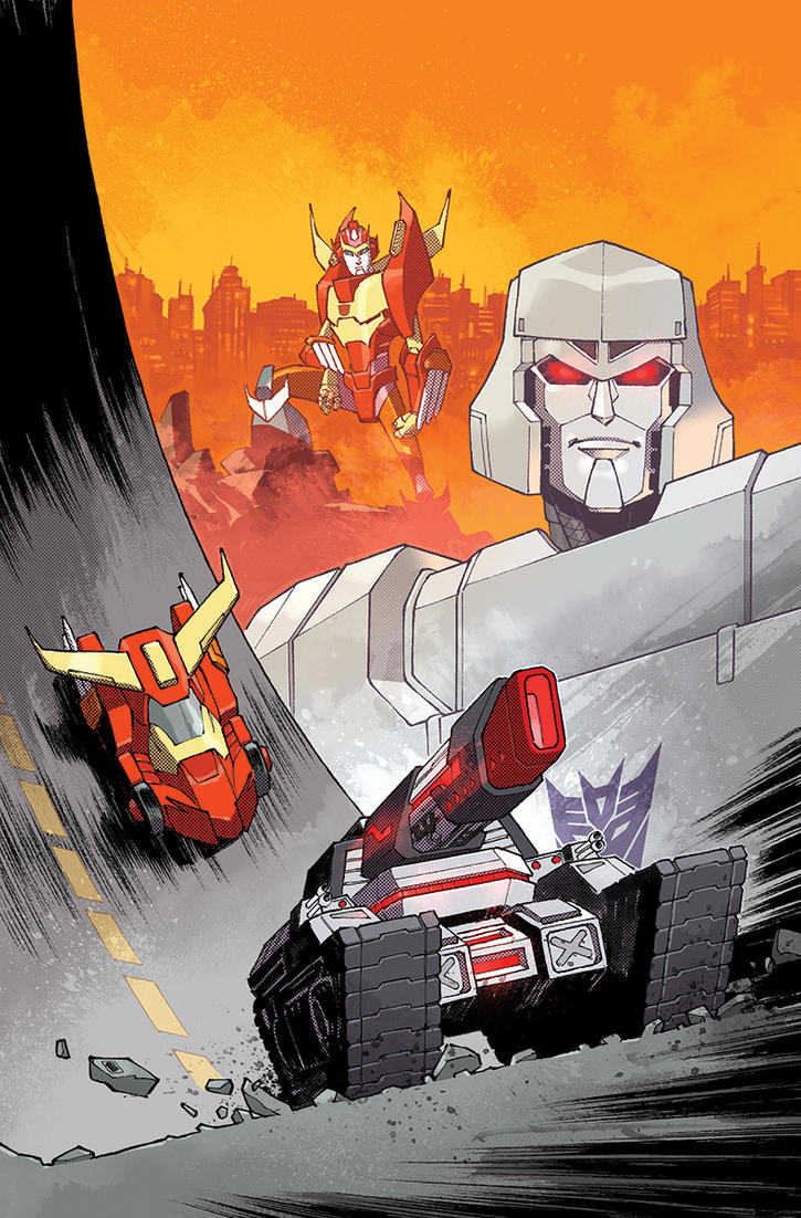 Lost Light #3 Cover by nelsondaniel