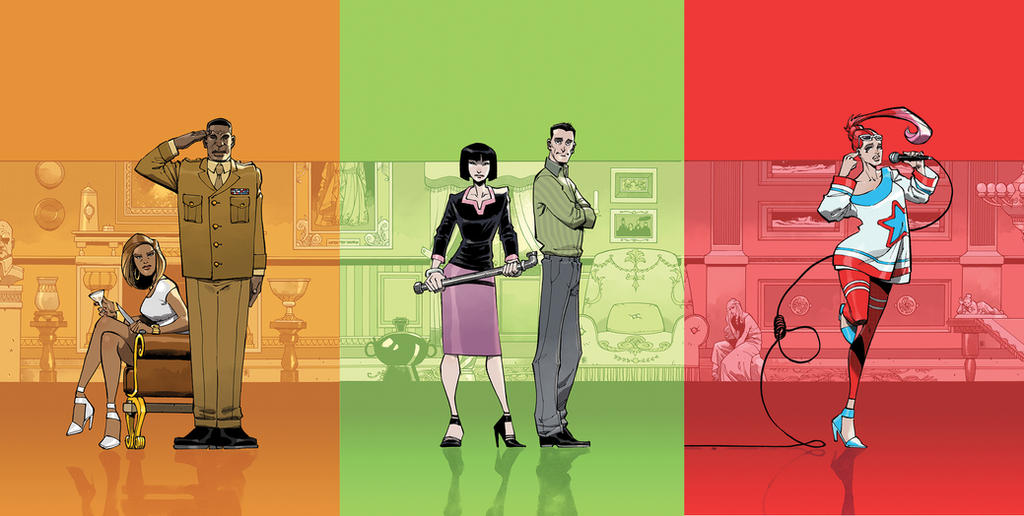 CLUE covers by nelsondaniel