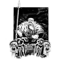 King Conan by nelsondaniel