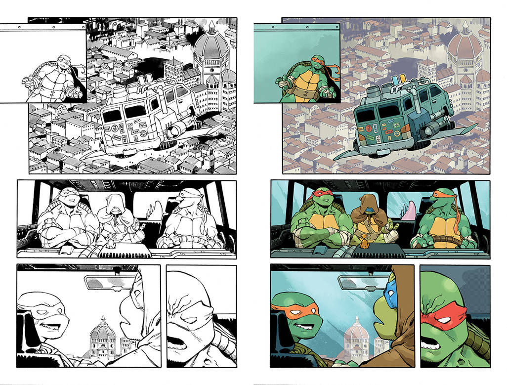 TMNT 20/20 Page 03 by nelsondaniel