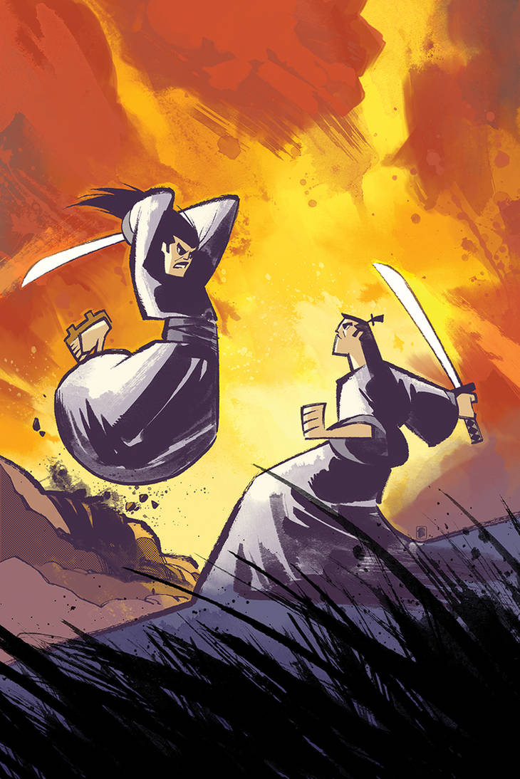 Samurai Jack Cover by nelsondaniel