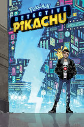 Detective Pikachu Cover