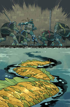 TMNT #106 Cover
