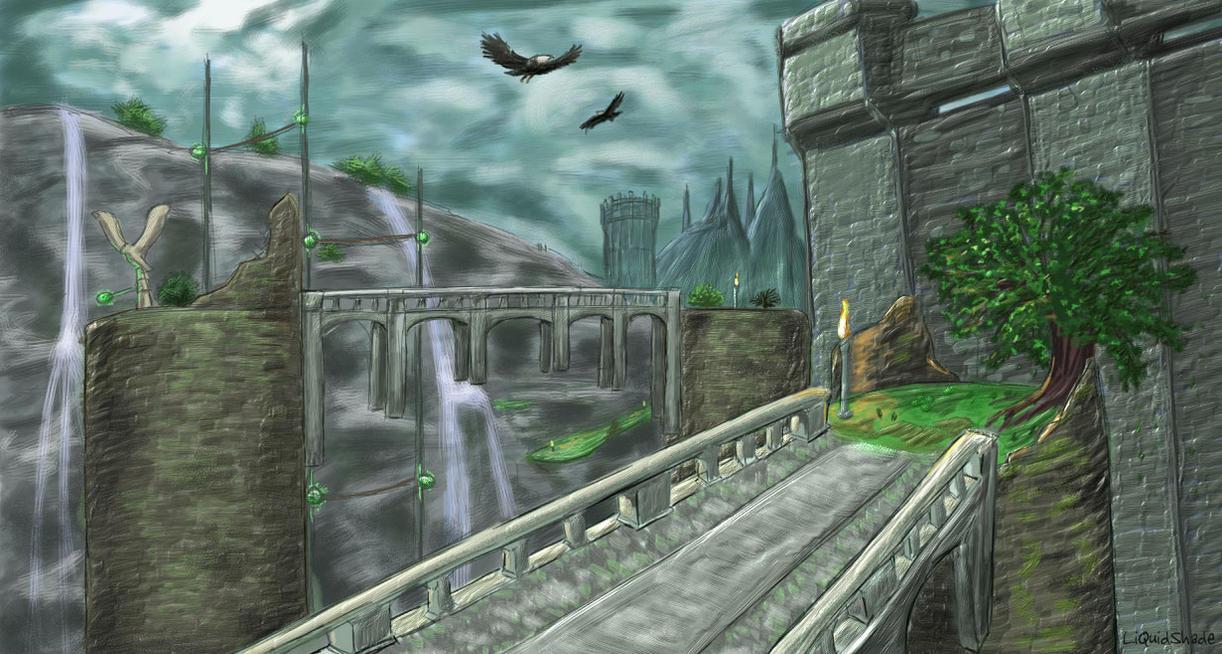 Kingdom Valley by liquidshade