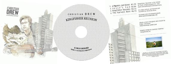 Christian Drew Album Artwork by LaurenceAndrews