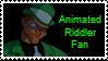 Stamp - Animated Riddler by Ghostbusterlover