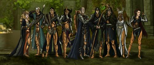 DA: The Evanuris by Domnorian