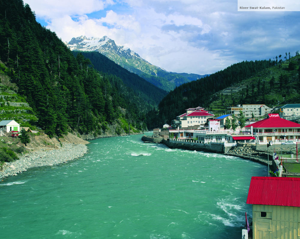 River swat kalam pakistan by sajidbilal
