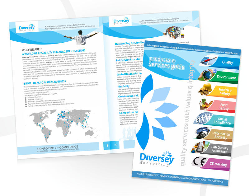Marketing Brochure By Sajidbilal On Deviantart