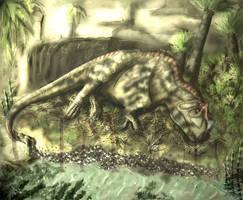 Ceratosaurus nasicornis by SkyTides
