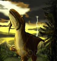 Allosaurus amplexus by SkyTides