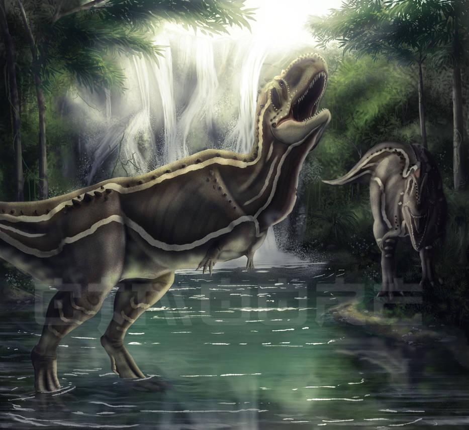 Rajasaurus by SkyTides