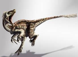 Velociraptor by SkyTides