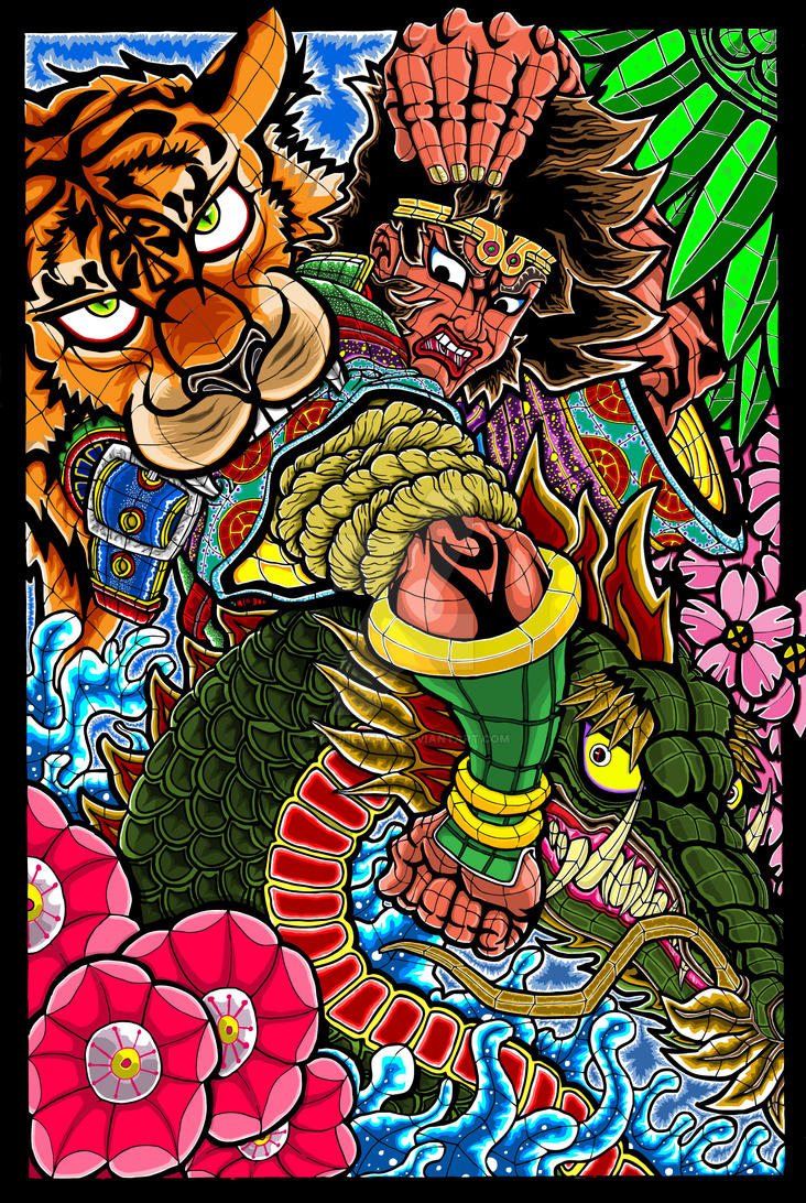 Nebuta Drawing FINISHED by TyroneAcres