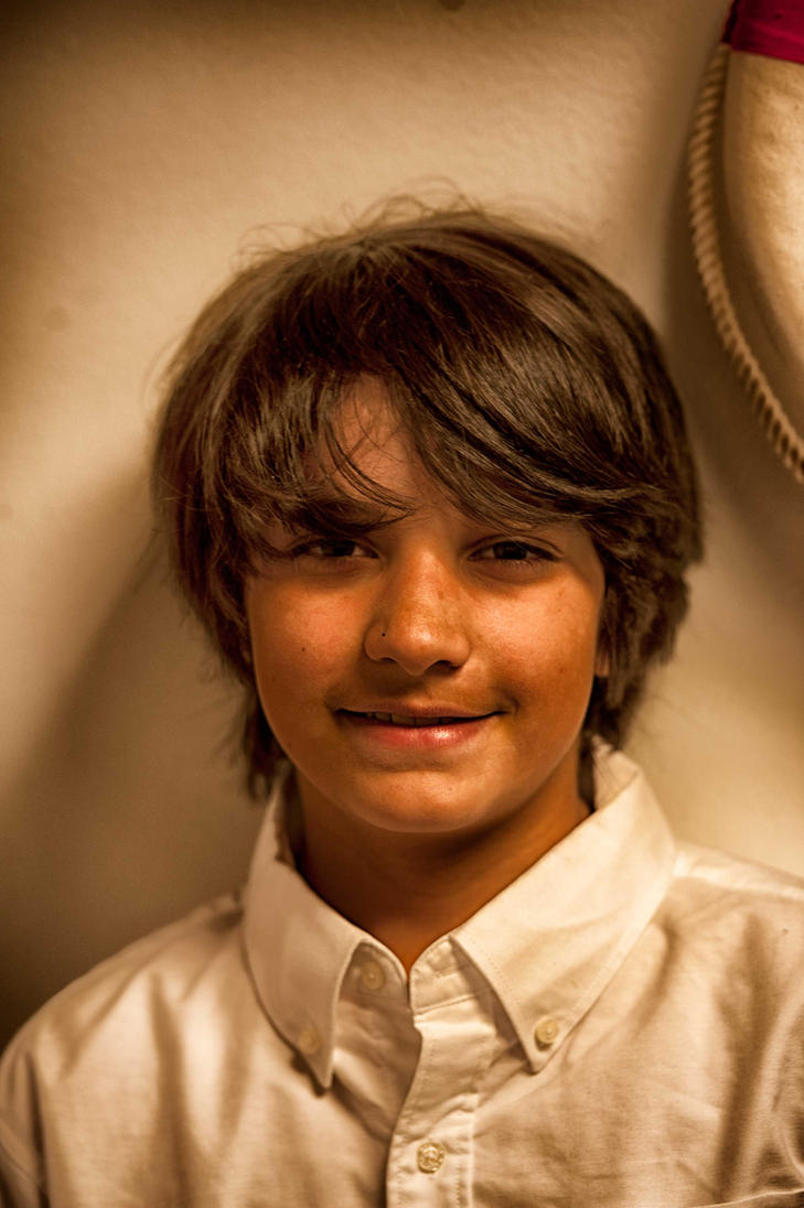 George 5th Grade Portrait by JeffPrice