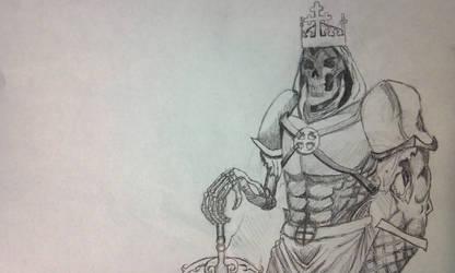 Skeleton Doodle by Otter87