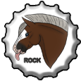 Rock BottleCap! by MissDudette