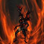 Adopt auction _ Infernal Demon by Dissunder