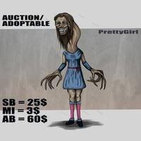 {OPEN}AUCTION/ADOPTABLE_PrettyGirl by Dissunder