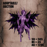 {OPEN}AUCTION/ADOPTABLE_Demonessa by Dissunder