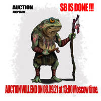 {OPEN}AUCTION_FroggerShaman by Dissunder