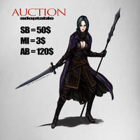 {OPEN} AUCTION/ADOPTABLE WarriorLady by Dissunder