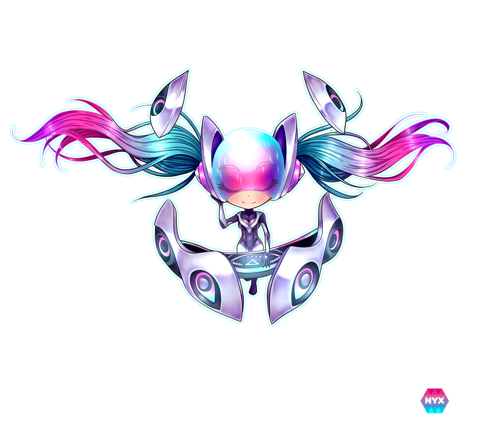 Dj Sona -League of Legends- :Ethereal: -Chibi-