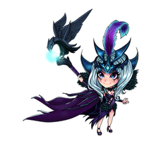 Leblanc -Ravenborn- :Chibi: by nixiescream