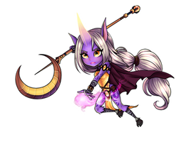 Soraka, the Starchild -League of Legends- :Chibi: