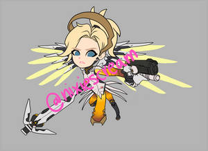 Mercy -WIP- Overwatch Chibi