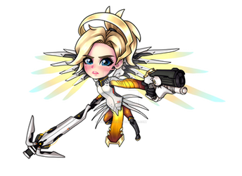 Mercy Overwatch Chibi