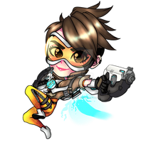 Tracer Overwatch Chibi