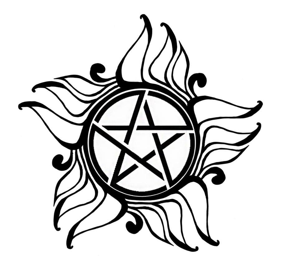Demonic Protection Tattoo by LilyThula