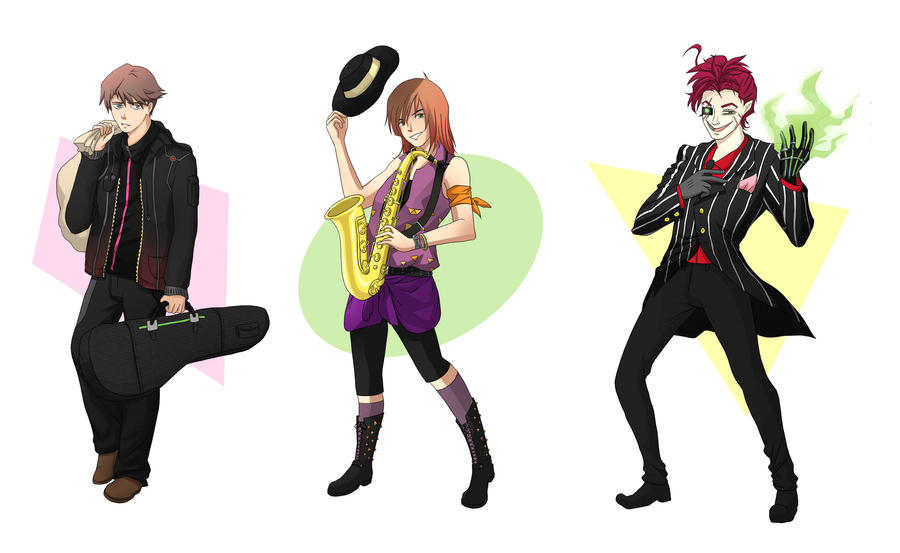 Characters Sheet by Shi-Yin