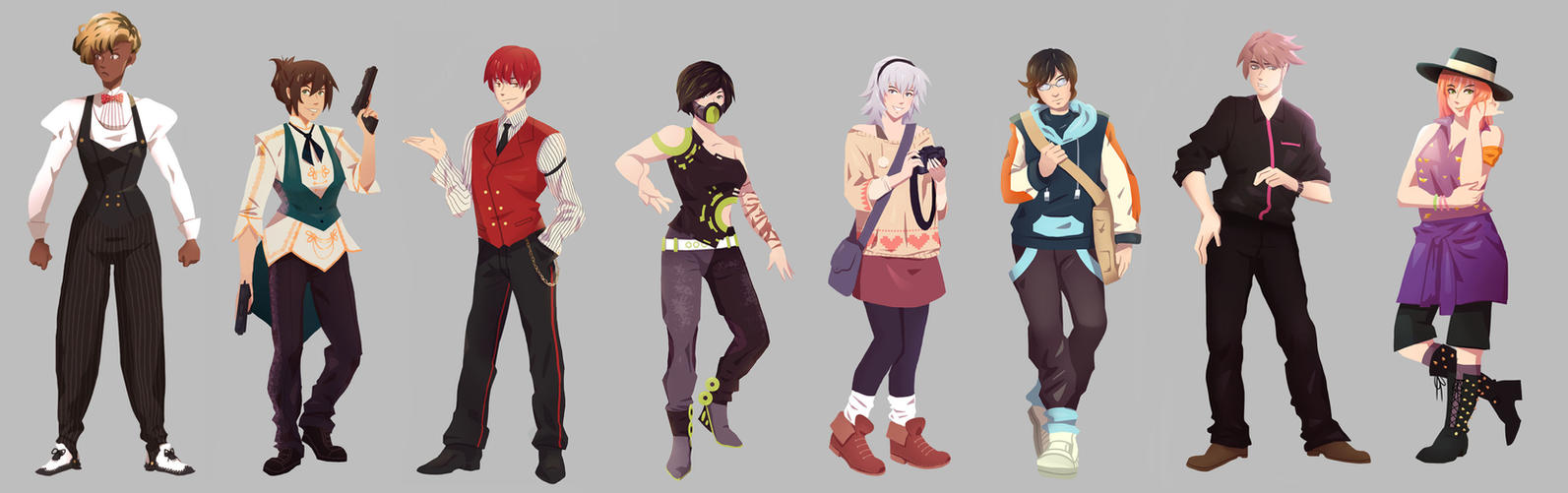Characters compilation (new chars added) by Shi-Yin