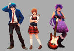 Characters Compilation 2 + speedpaint by Shi-Yin